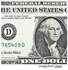 picture of legal tender us dollar bill